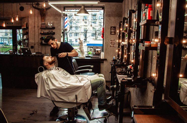 barbers shop barba stile tagli capelli uomo