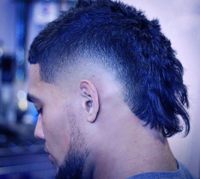 taglio capelli uomo mullet