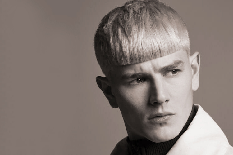 taglio capelli uomo short bowl cut